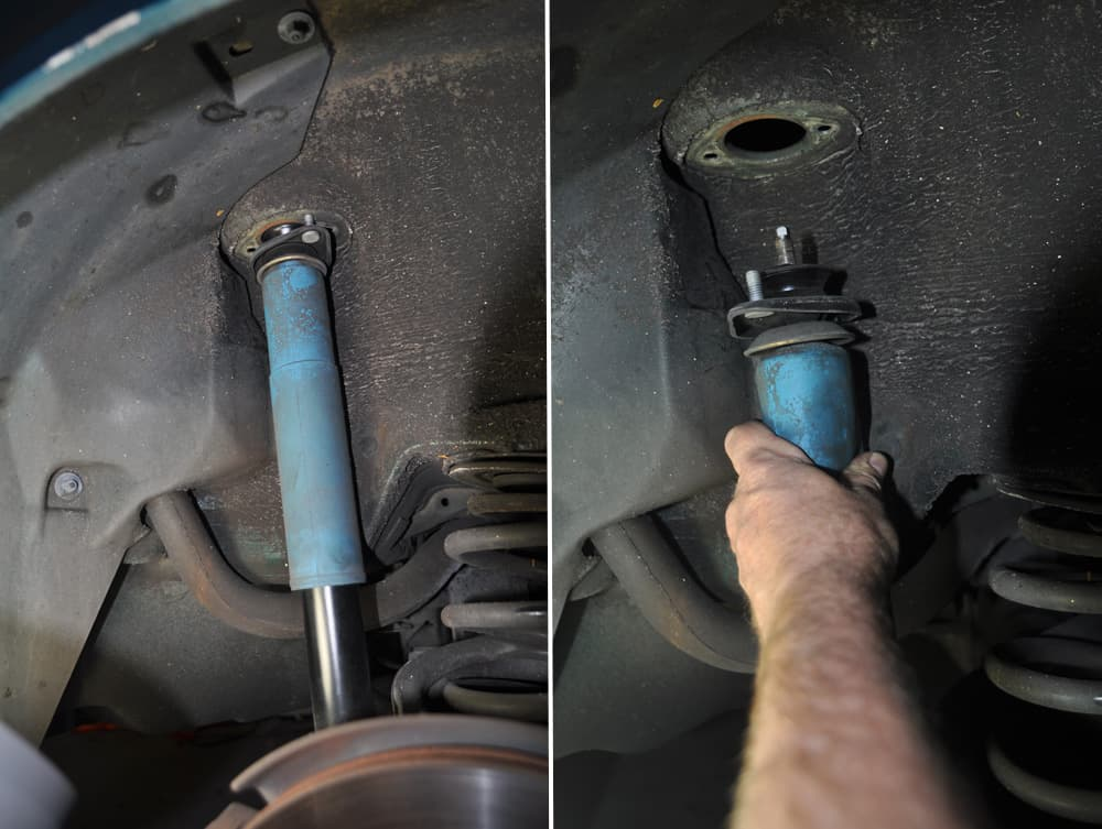 Rear Shock Mounts Replacement On The Bmw E36 M3 Bmw