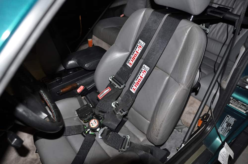 Installing Car Seat With Seatbelt