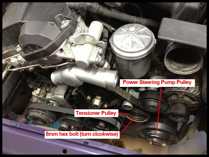 BMW E36 Power Steering Pump Replacement - 1990-1998 3 Series
