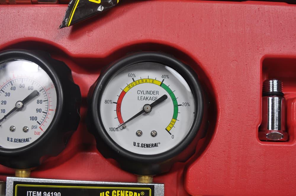 BMW E36 Cylinder Leak Down - test guage