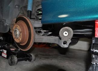 rear trailing arm bushings replacement