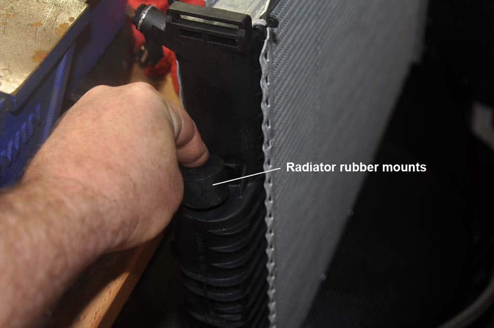 radiator rubber mounts