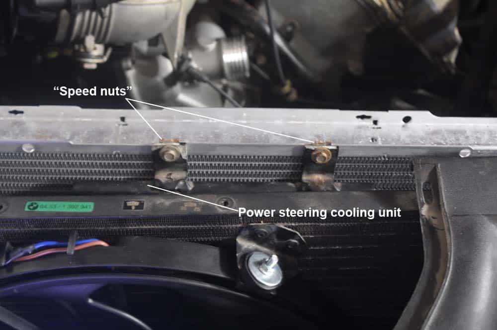 BMW E31 Coolant System - radiator installation
