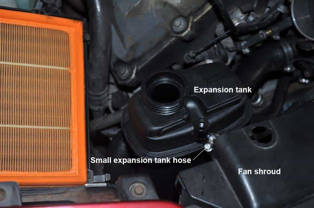 BMW E31 Coolant System - install new expansion tank