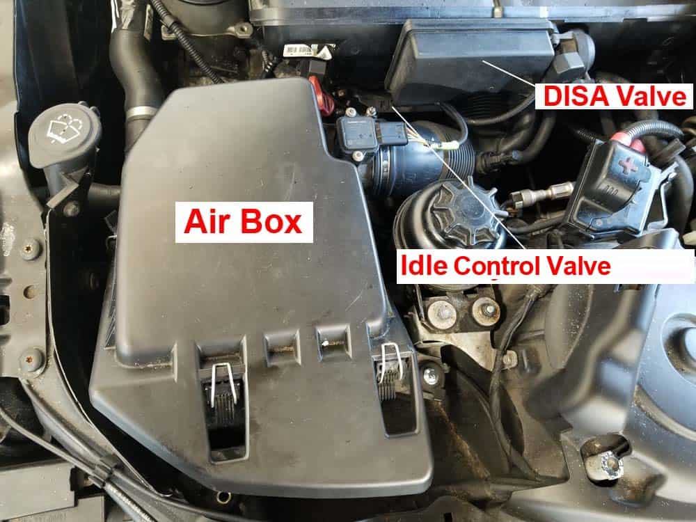 Rough Idle Repair Bmw E60 530i Guiderhbmwrepairguide: Bmw Idle Control Valve Location At Gmaili.net