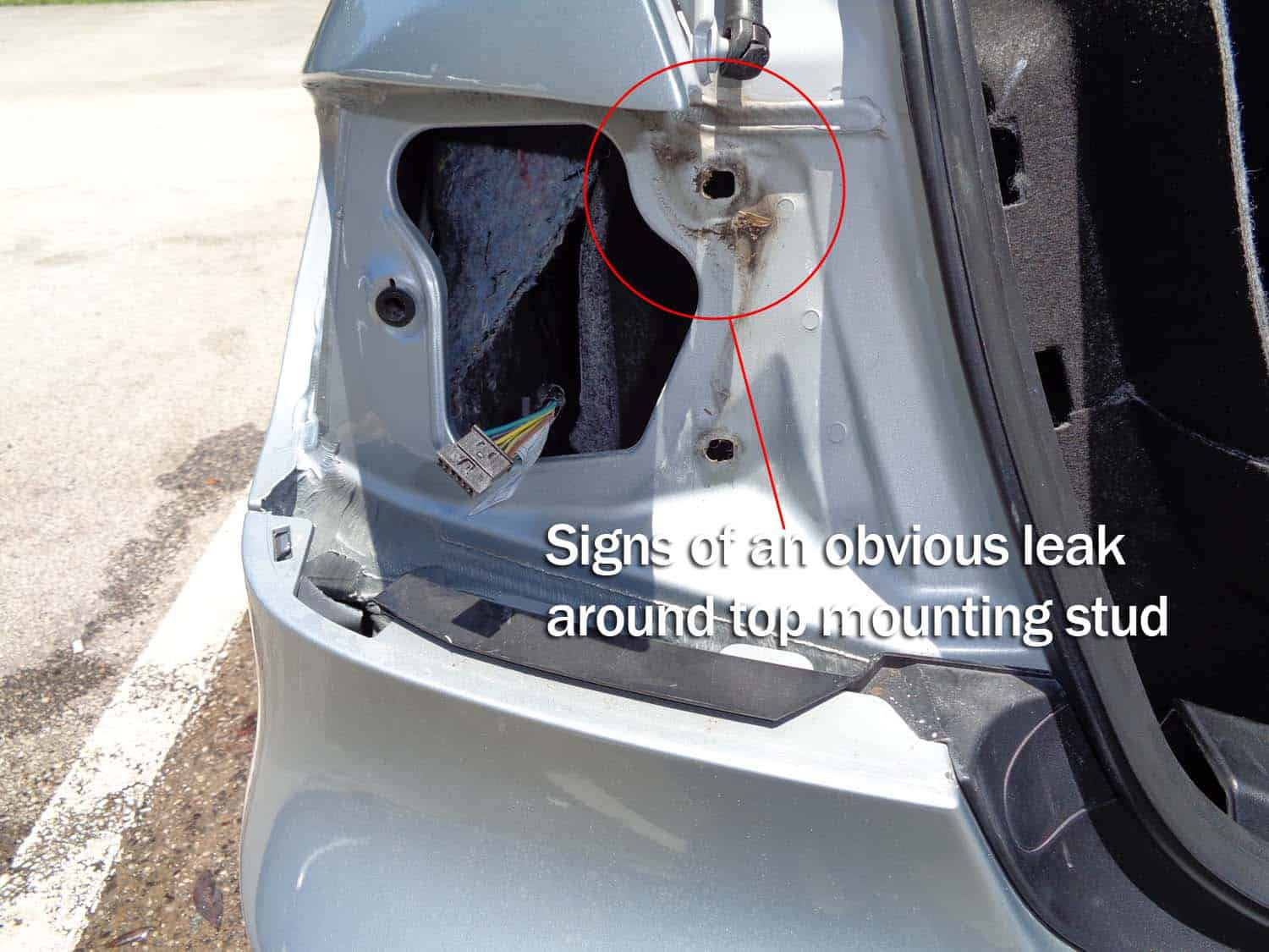 Trunk Leak / Tail Light Leak Diagnoses and Repair - BMW E90