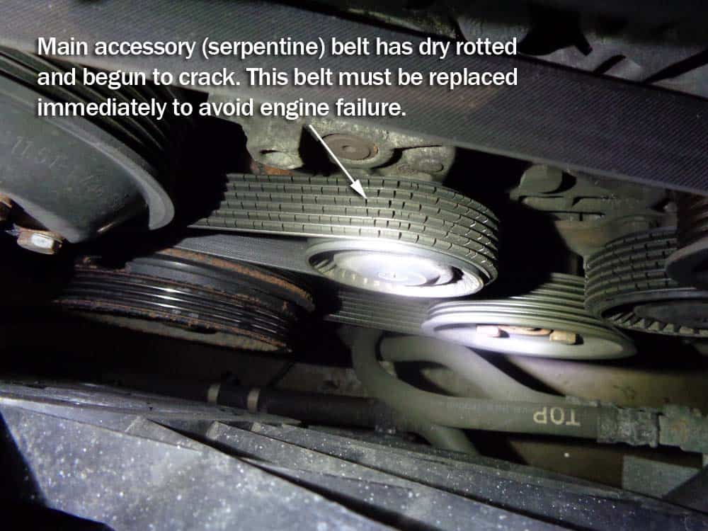 bmw e36 accessory belt replacement