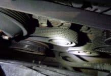 bmw e60 belt repair pulley repair tensioner pulley