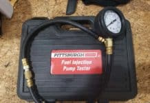 bmw fuel pressure test