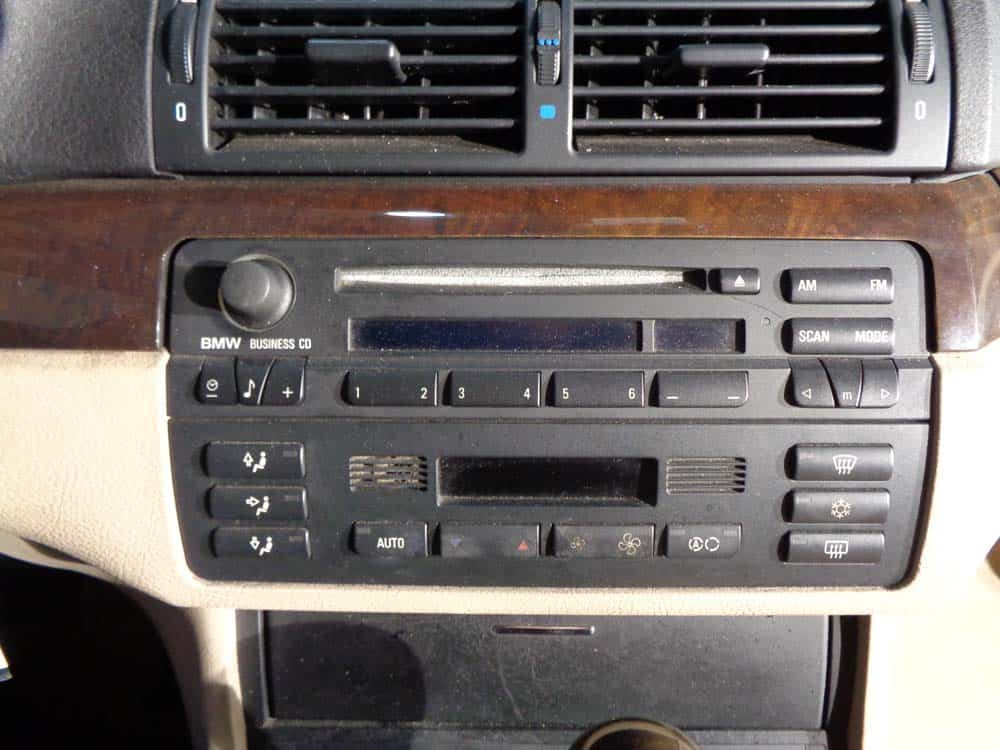 bmw e46 radio removal 3 series bmw repair guide. Black Bedroom Furniture Sets. Home Design Ideas