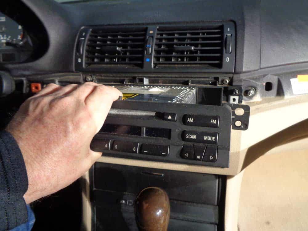 BMW E46 Radio Removal | 3 Series | BMW Repair Guide