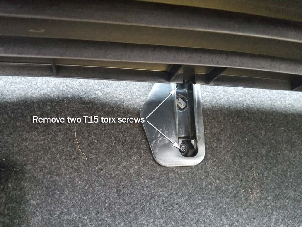 BMW Z4 microswitch
