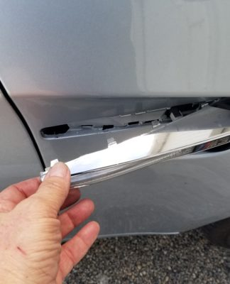 BMW M3 side grille