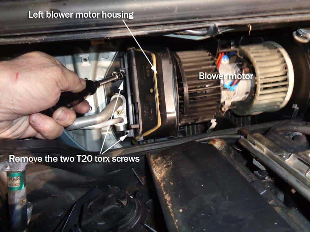 BMW E46 Blower Motor - A/C Not Blowing - Replacement E Fuse Box Removal on e30 fuse box, 540i fuse box, f20 fuse box, e39 fuse box, 330ci fuse box, e53 fuse box, e90 fuse box, e83 fuse box, e36 m3 fuse box, 330i fuse box, r50 fuse box, f10 fuse box, f30 fuse box, r56 fuse box, e34 fuse box, s14 fuse box, e60 fuse box, bmw fuse box, 2004 acura tl fuse box, e28 fuse box,