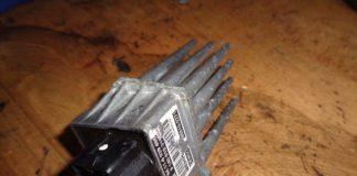 BMW e46 blower resistor