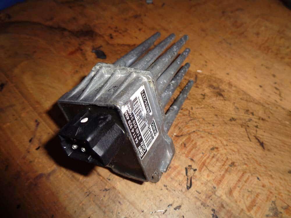BMW E46 Blower Resistor - Replacement - BMW Repair Guide