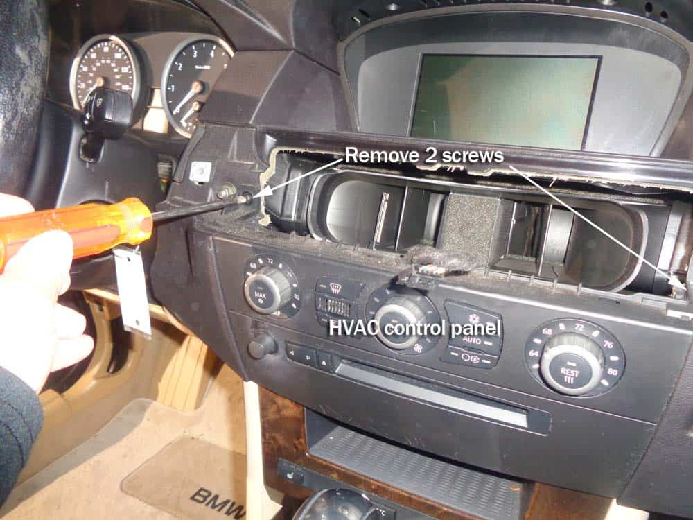 BMW Auxiliary Port Installation - E60 5 Series 530i