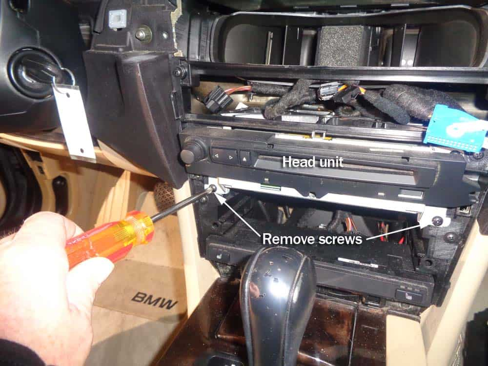 bmw auxiliary port installation e60 5 series 530i. Black Bedroom Furniture Sets. Home Design Ideas