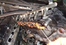 BMW E46 intake manifold