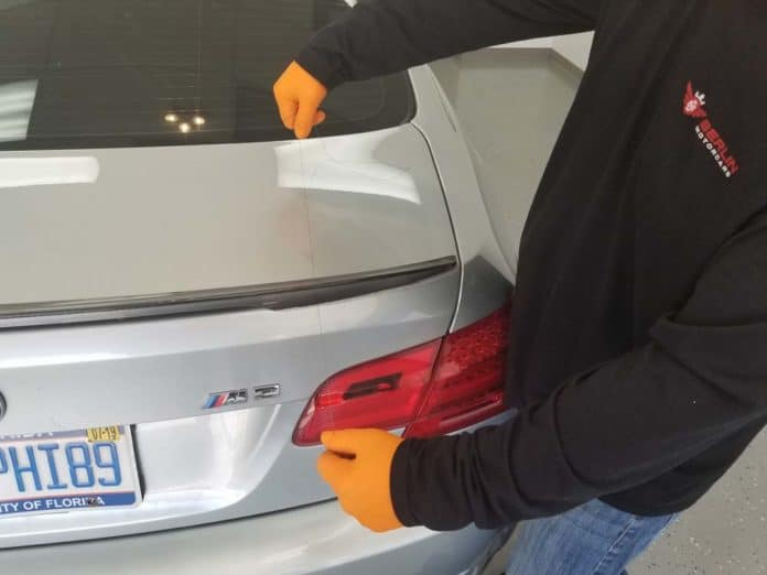 rear spoiler repair