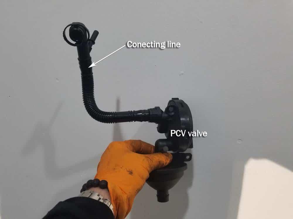 bmw pcv valve repair