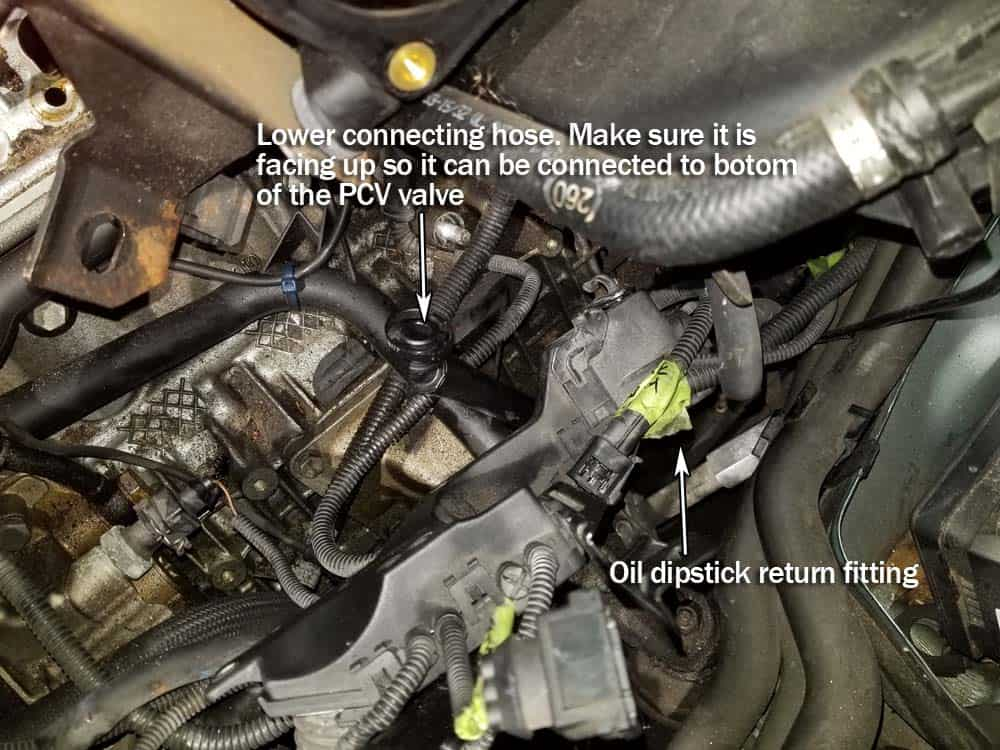 BMW PCV Valve Repair - M52/54 Engine -3,5,Z3,Z4,X3,X5 3 and