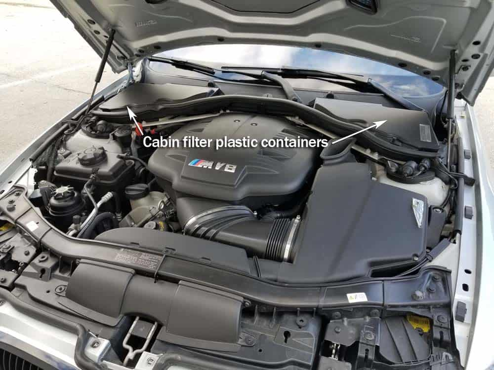 BMW E9x M3 Cabin Filter Replacement - BMW E90/E91/E92 M3