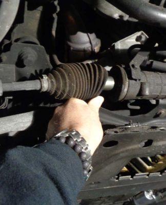 BMW E46 Tie Rod Repair