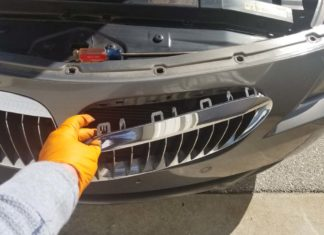 bmw 645ci grille replacement
