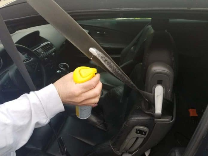 bmw seat belt repair