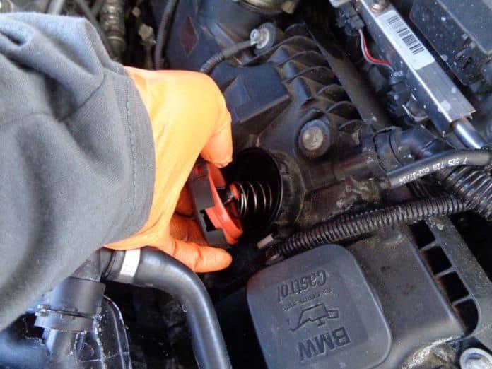 BMW pressure regulator valve