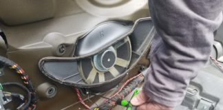 BMW 6 series subwoofer replacement