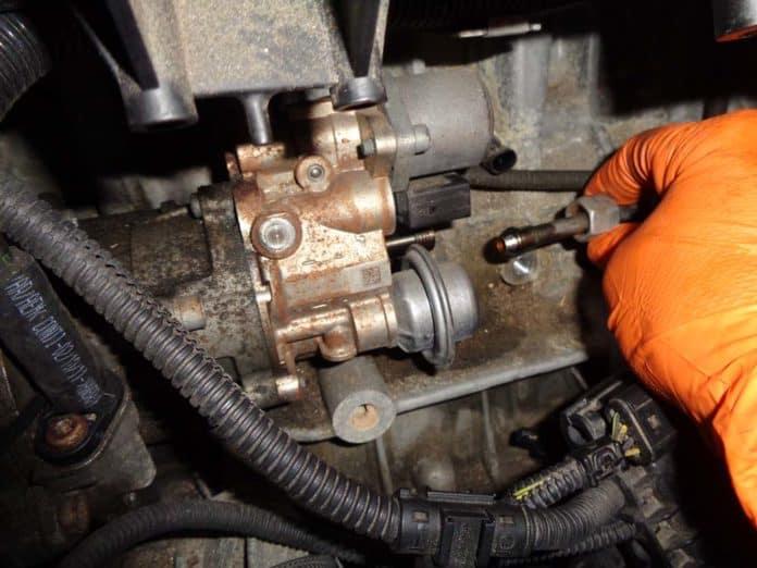 Bmw High Pressure Fuel Pump Replacement