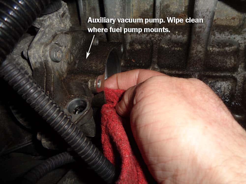 bmw high pressure fuel pump