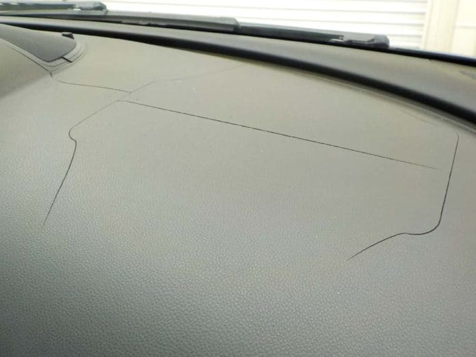 bmw dashboard crack repair