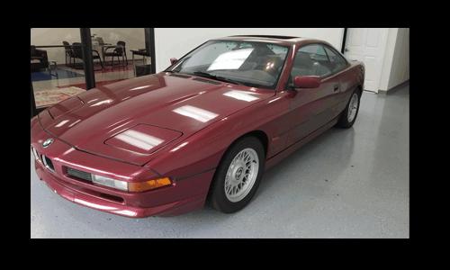 BMW Repair Guide's 1995 840i