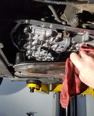 BMW e46 transmission service