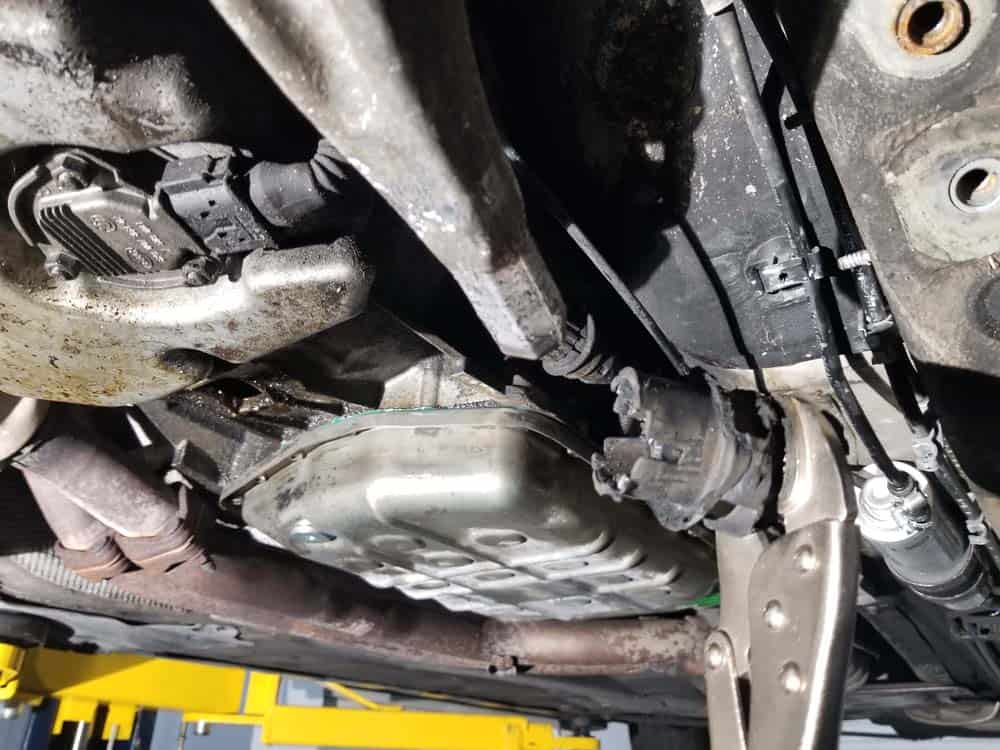 metal core removed from control arm