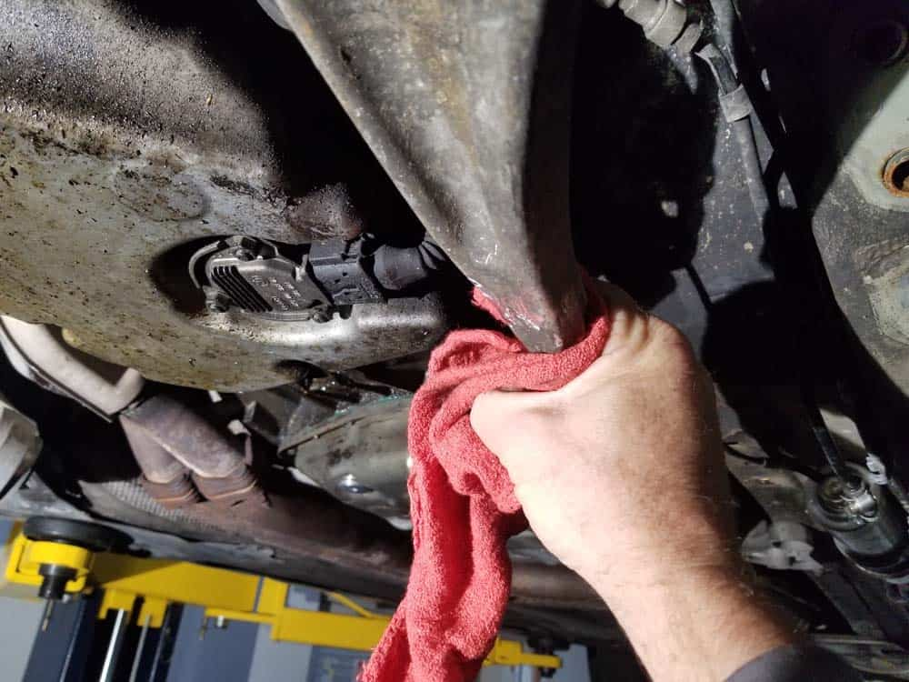 clean end of control arm