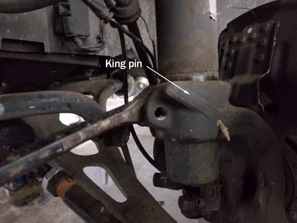 king pin removal