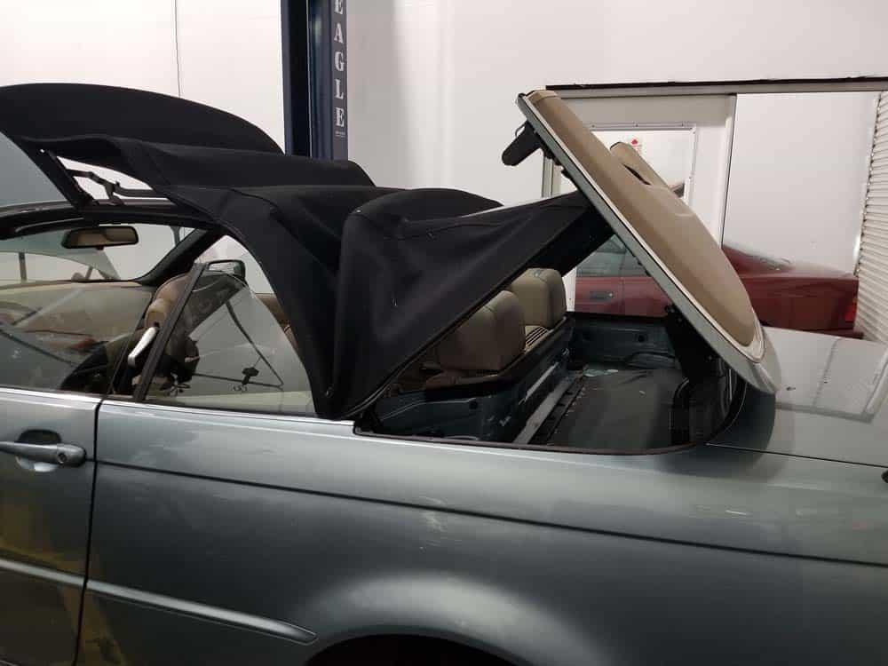 BMW E46 rear shock