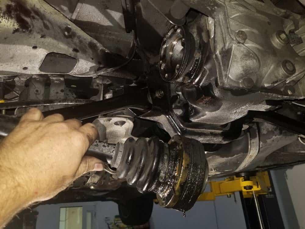 remove drive axles