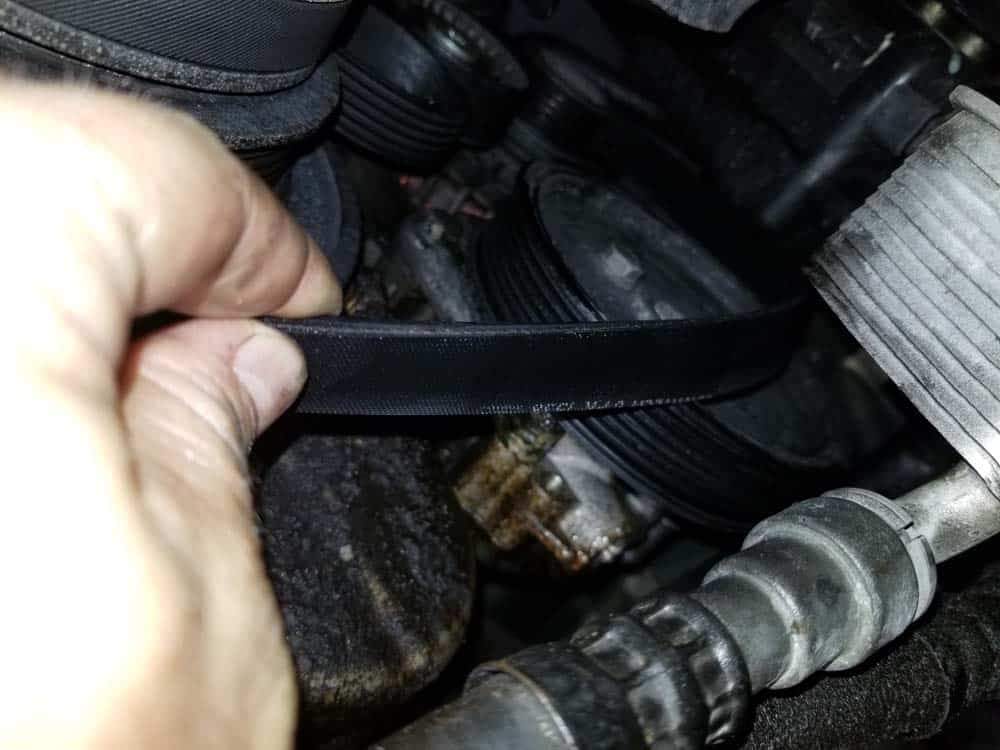 remove power steering pulley