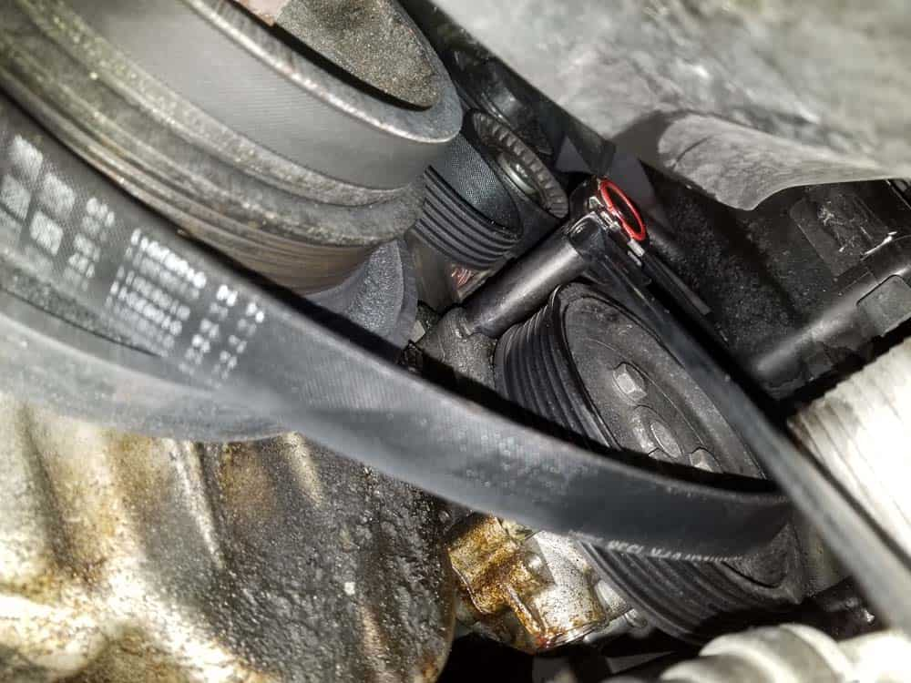 remove front mounting bolt