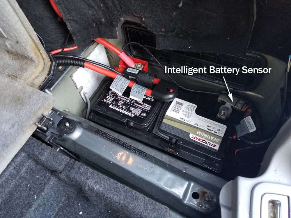 bmw e61 intelligent battery sensor