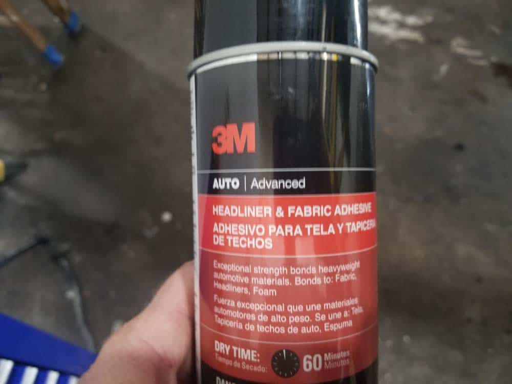 3M headliner and fabric adhesive