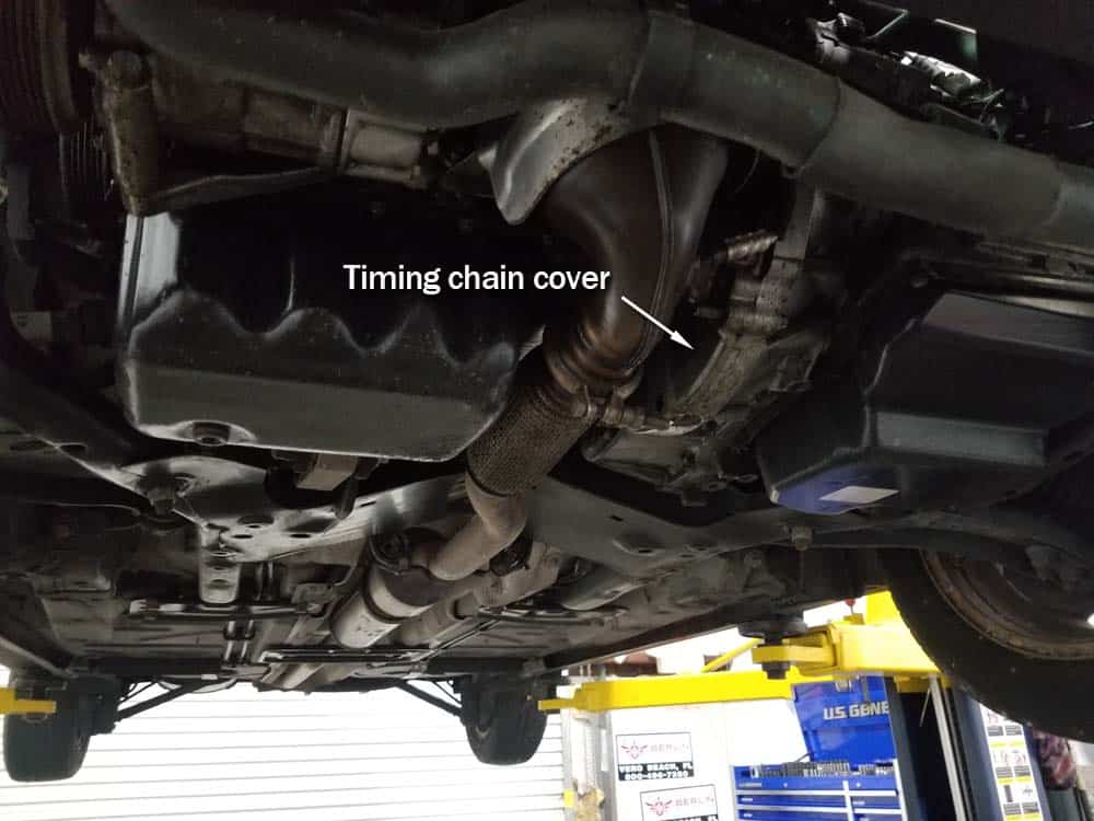 MINI R56 timing chain cover