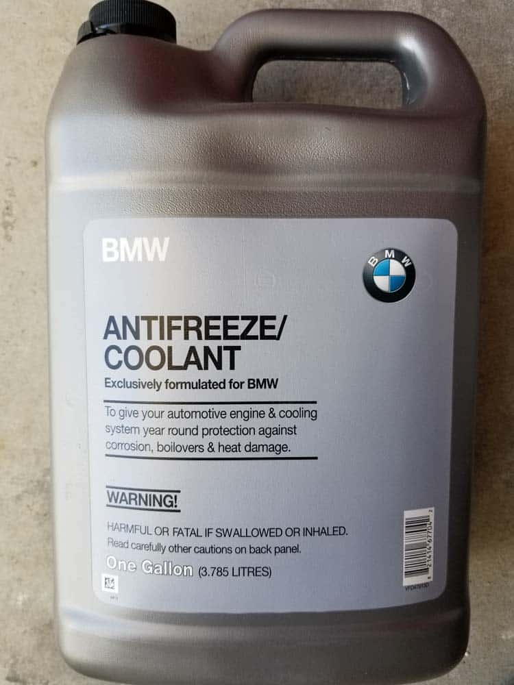 Only use Genuine BMW coolant.