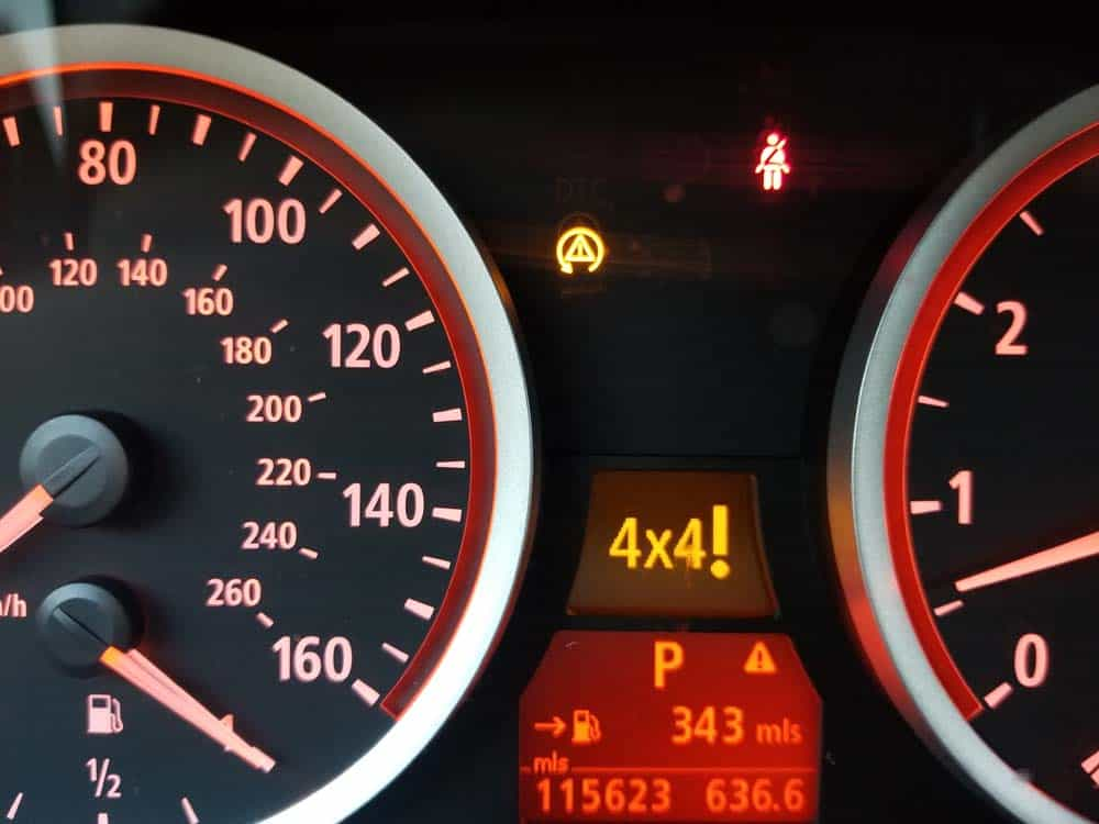 You should receive an error message on the instrument cluster when the fuse is removed