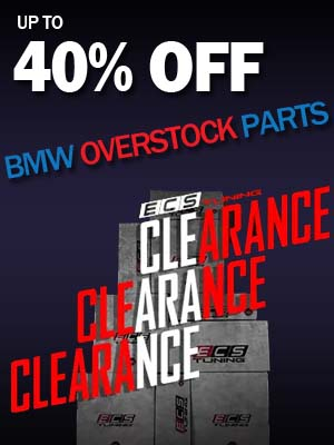 ECS Tuning 40% Off Overstocked BMW Parts